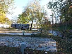 Riverbend Campground in Pigeon Forge Tennessee by the River