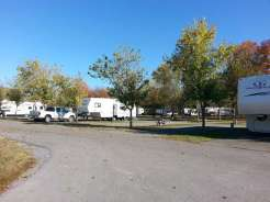 Riverbend Campground in Pigeon Forge Tennessee Pull thru