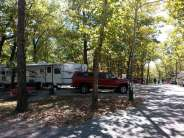 The Wilderness at Silver Dollar City in Branson Missouri Road and site