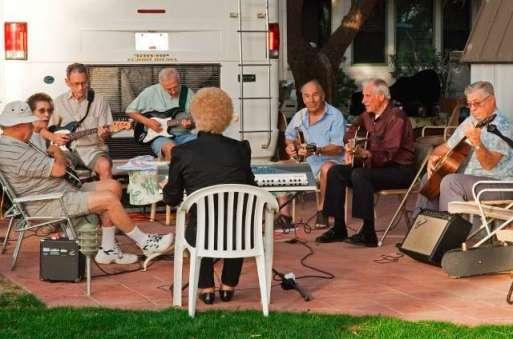 Sky Valley Resort in Desert Hot Springs California Gatherings