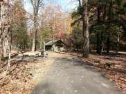 Smokemont Campground in Great Smoky Mountains National Park near Cherokee North Carolina Backin