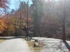 Smokemont Campground in Great Smoky Mountains National Park near Cherokee North Carolina Dump Station