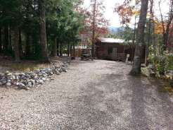 Smoky Bear Campground in Cosby Tennessee Backin