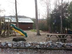 Smoky Bear Campground in Cosby Tennessee Playground