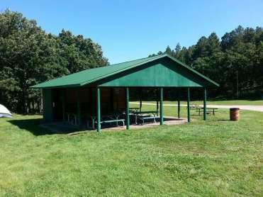 Spokane Creek Cabins & Campground near Keystone South Dakota Pavilion