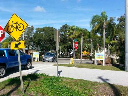 St. Petersburg / Madeira Beach KOA in Saint Petersburg Florida Bike Path