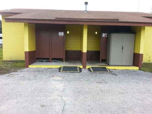 Stage Stop Campground in Winter Garden Florida Restroom