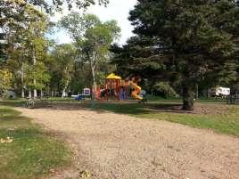 Stokes-Thomas Lake City Park in Watertown South Dakota Playground