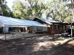 Sugar Mill Ruins Travel Park in New Smyrna Beach Florida Rally Area