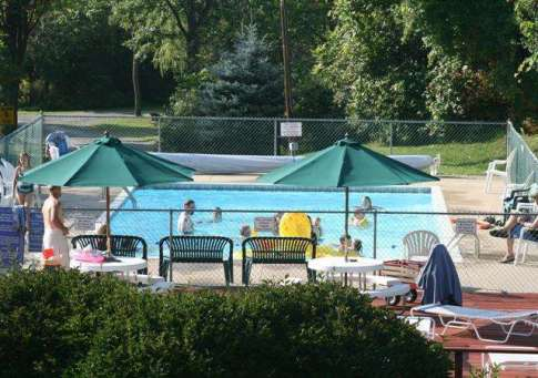 Cooperstown Shadow Brook Campground in Cooperstown New York Pool