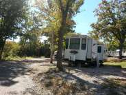 Table Rock Shores Campground in Kimberling City Missouri Pull thru