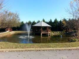 The Dell Motorcoach Resort in Sevierville Tennessee Fountain