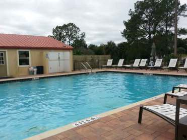 Thousand Trails Orlando in Clermont Florida Pool