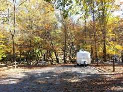 Townsend / Great Smokies KOA in Townsend Tennessee Backin by River