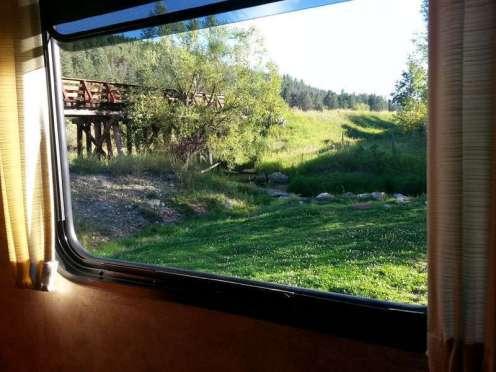 Trailside Park Resort in Hill City South Dakota Trestle