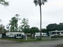 Tropical Palms Resort in Kissimmee Florida Pull thrus
