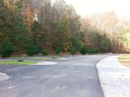 Twin Creek RV Resort in Gatlinburg Tennessee Backin (New Section)