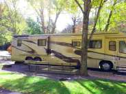 Twin Creek RV Resort in Gatlinburg Tennessee Large Sites