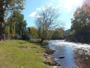 Twin Mountain RV Park in Pigeon Forge Tennessee River