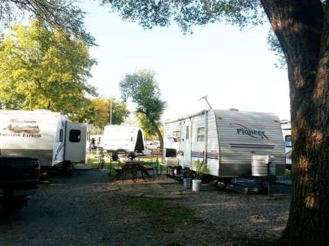 Two Rivers Campground in Nashville Tennessee Small Backins