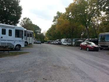 Two Rivers Campground in Nashville Tennessee Road
