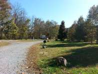 Up the Creek RV Camp in Pigeon Forge Tennessee Roadway