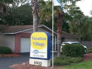 Encore - Vacation Village RV Resort in Largo Florida Sign