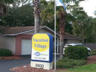 Encore - Vacation Village RV Resort in Largo Florida Sign