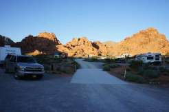 Valley of Fire State Park near Overton Nevada Roadway