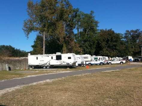 Whitey's Fish Camp in Orange Park Florida RV Sites