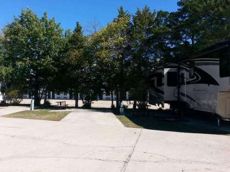 Willow Tree Inn RV Park in Branson Missouri Open Backin
