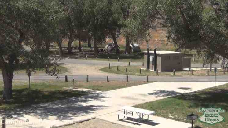 Boysen State Park Lower Wind River Campground