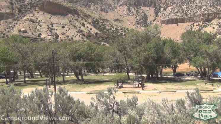 Boysen State Park Upper Wind River Campground