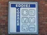 Eddie's Corner Moore Montana Sign