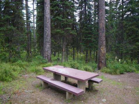 lakeview-campground-hungry-horse-montana-campsite