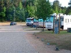 Magnolia RV Park Magnolia Arkansas Roadway