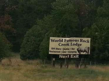 rock-creek-lodge-clinton-montana-road-sign