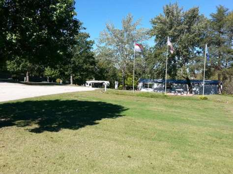 Northwoods Mobile & RV Park in Branson Missouri Tucked back off road