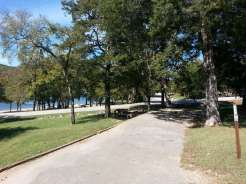 Aunts Creek COE Campground in Reed Springs Missouri (Branson West) large backin