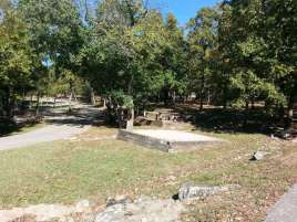 Aunts Creek COE Campground in Reed Springs Missouri (Branson West) Tent Sites