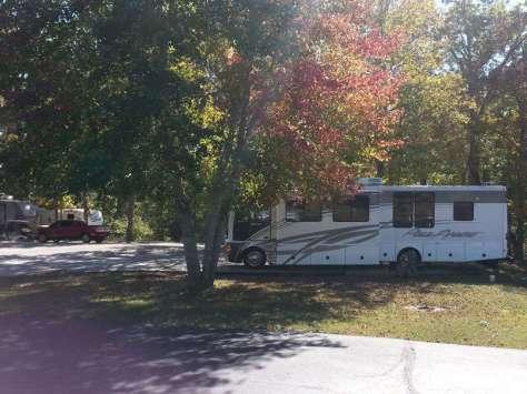 Castle View RV Resort in Branson West Missouri Back in