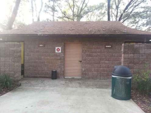 Clarcona Horse Park Campground in Apopka Florida Restroom