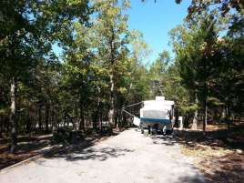 Indian Point Park Campground near Branson Missouri backin