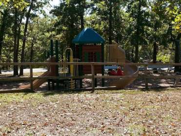 Indian Point Park Campground near Branson Missouri Playground
