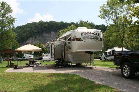 Long Branch BLM Campground Lancater Tennessee - Photo from Rec.gov