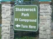 Shadowrock Park & Campground in Forsyth Missouri Main Sign