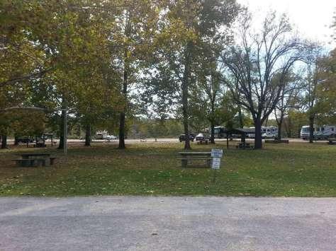 Shadowrock Park & Campground in Forsyth Missouri Tent sites
