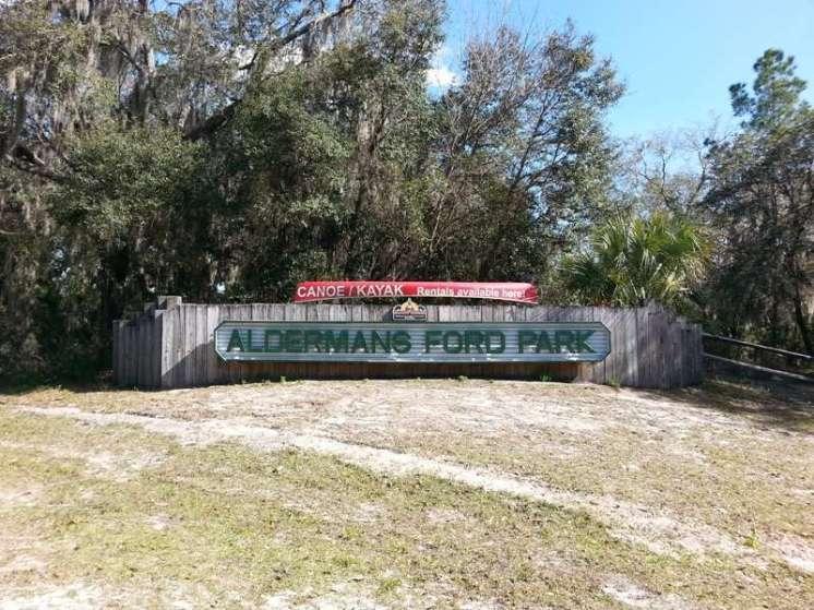 Alderman's Ford Regional Park near Lithia Florida