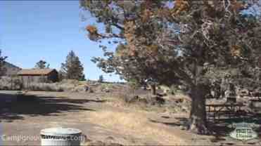 Indian Wells Campground – Lava Beds National Monument