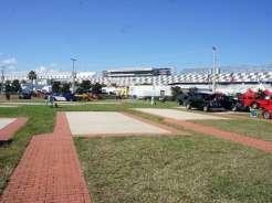 Geico Campground at Daytona Speedway Infield Concrete Site